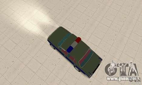 VAZ 2101 Polizei für GTA San Andreas zurück linke Ansicht