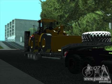 Semi Artict3 pour GTA San Andreas vue arrière