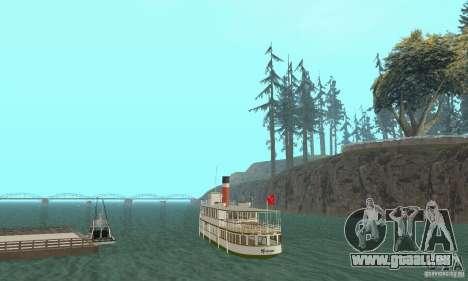 RMS Segwun Ferry für GTA San Andreas linke Ansicht