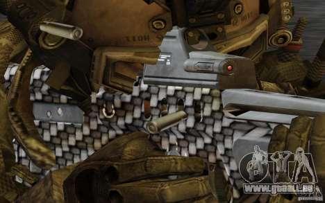 Tavor Tar-21 Carbon pour GTA San Andreas troisième écran