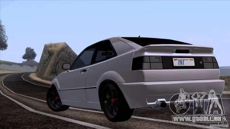Volkswagen Corrado VR6 pour GTA San Andreas vue de droite
