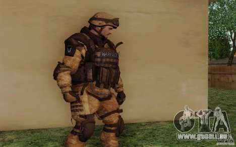 Šturomvik de Warface pour GTA San Andreas deuxième écran