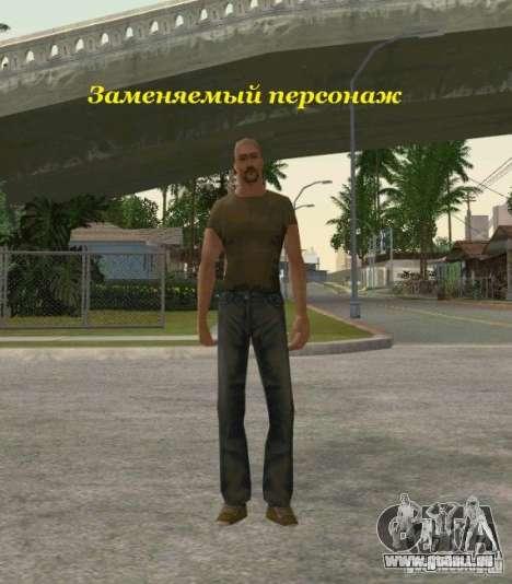 Regroupement de mercenaires d'un harceleur pour GTA San Andreas quatrième écran