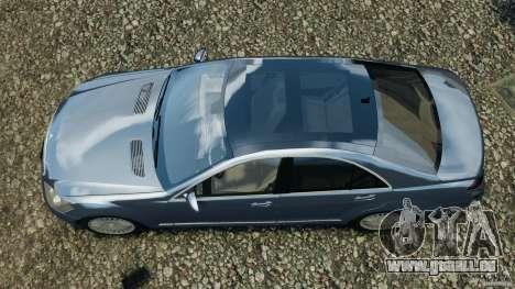 Mercedes-Benz W221 S500 2006 für GTA 4 rechte Ansicht