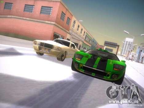 Ford GT für GTA San Andreas Seitenansicht