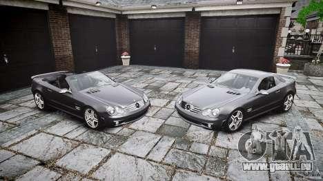 Mercedes Benz SL65 AMG pour GTA 4 Salon