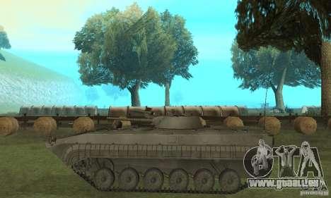 BMP-1 grau für GTA San Andreas linke Ansicht