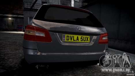 Mercedes E-Klasse-Wagen für GTA 4 rechte Ansicht