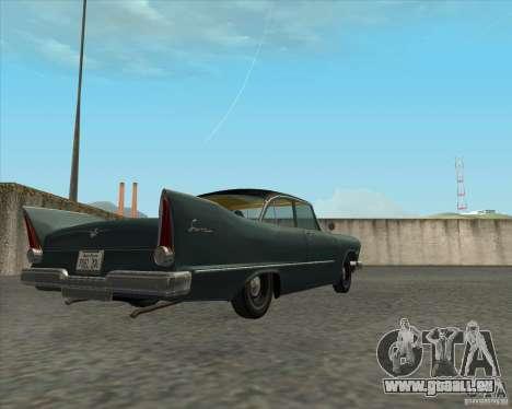 Plymouth Savoy 1957 pour GTA San Andreas vue de droite