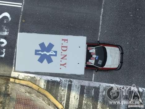 Ford F-350 Ambulance FDNY pour GTA 4 est un droit