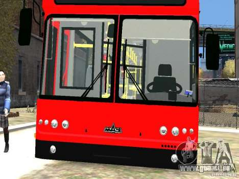MAZ-5295 v2. 0 final für GTA 4 obere Ansicht