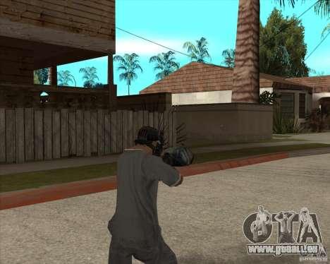 M4 Drum Magazine pour GTA San Andreas troisième écran