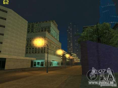 GTA SA IV Los Santos Re-Textured Ciy pour GTA San Andreas onzième écran