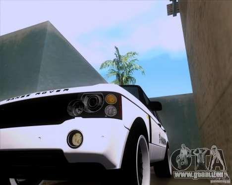Range Rover Hamann Edition pour GTA San Andreas vue intérieure