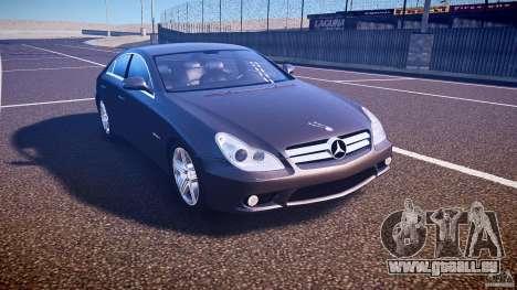 Mercedes-Benz CLS 63 pour GTA 4 est une vue de l'intérieur
