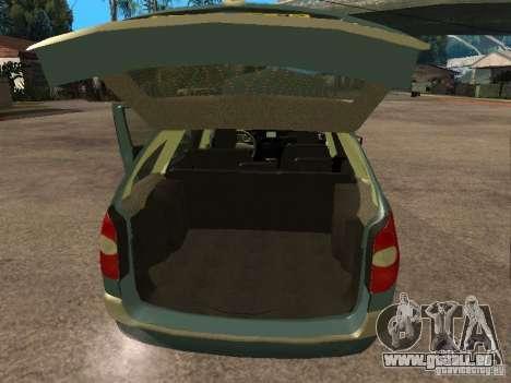 Renault Laguna II pour GTA San Andreas vue arrière