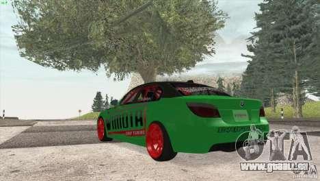 BMW M5 E60 Darius Balys für GTA San Andreas rechten Ansicht