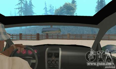 Vauxhall Monaro VXR Open SKY 2004 für GTA San Andreas Rückansicht