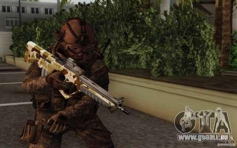 Tavor Tar-21 Camodesert pour GTA San Andreas
