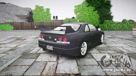 Nissan Skyline R33 pour GTA 4 Vue arrière de la gauche