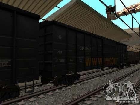 Eisenbahn-mod IV-Finale für GTA San Andreas achten Screenshot