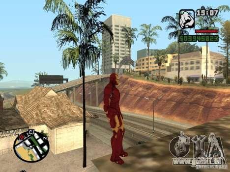 Iron man 2 für GTA San Andreas dritten Screenshot