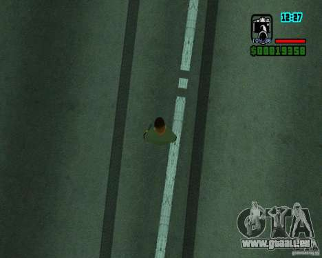 Nouveaux effets pour GTA San Andreas troisième écran