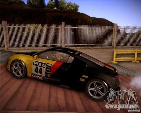 Audi R8 Shift für GTA San Andreas Seitenansicht