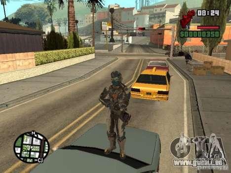Das Kostüm der Spiele Dead Space 2 für GTA San Andreas