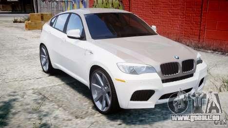 BMW X6M v1.0 für GTA 4 Innenansicht
