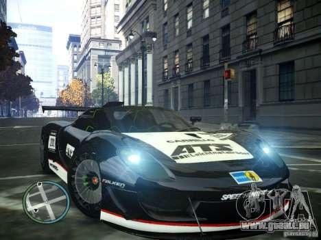 Porsche 918 Spider Body Kit Final pour GTA 4