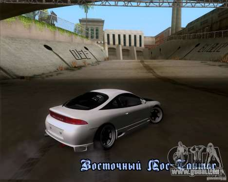 Mitsubishi Eclipse für GTA San Andreas Innenansicht