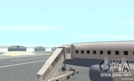 Airport Vehicle pour GTA San Andreas deuxième écran