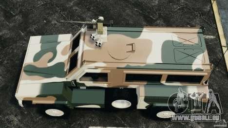 RG-31 Nyala SANDF pour GTA 4 est un droit