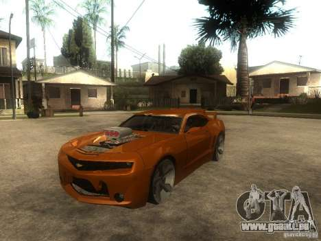 Chevrolet Camaro SS Dark Custom Tuning pour GTA San Andreas