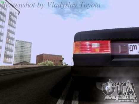 Toyota Corolla TE71 Coupe für GTA San Andreas obere Ansicht