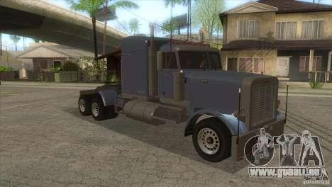Phantom von GTA IV für GTA San Andreas Rückansicht
