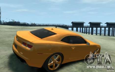 Chevrolet Camaro SS 2010 pour GTA 4 est un droit