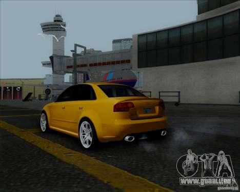 Audi RS4 für GTA San Andreas rechten Ansicht