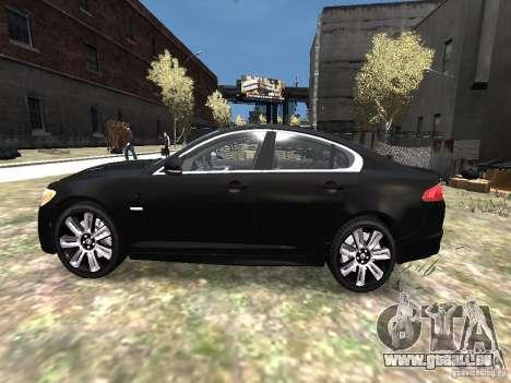 Jaguar XFR für GTA 4 linke Ansicht