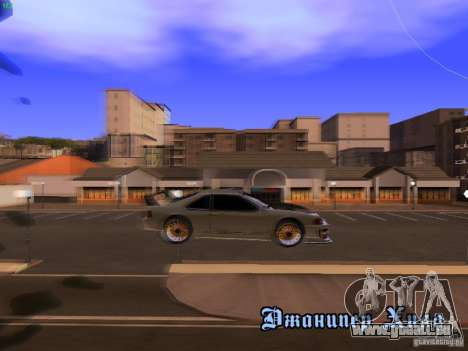 New Racing Style Fortune pour GTA San Andreas vue intérieure