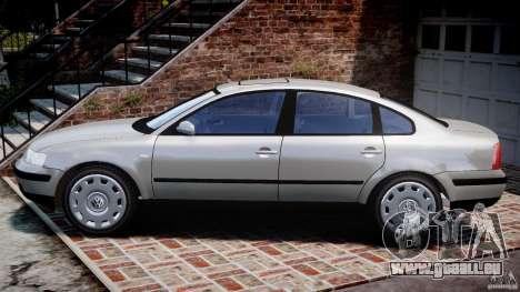 Volkswagen Passat B5 pour GTA 4 est une gauche