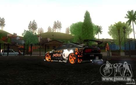 Nissan Silvia RPS13 Noxx pour GTA San Andreas vue de droite