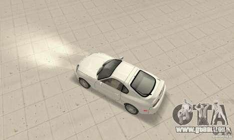 Toyota Supra 1998 stock pour GTA San Andreas sur la vue arrière gauche