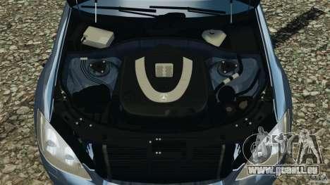 Mercedes-Benz W221 S500 2006 für GTA 4 obere Ansicht