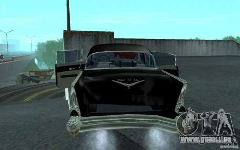 Chevrolet BelAir 4 Door Sedan 1957 für GTA San Andreas rechten Ansicht