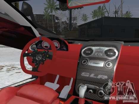 Mercedes-Benz SRL 722 Police für GTA San Andreas Innenansicht