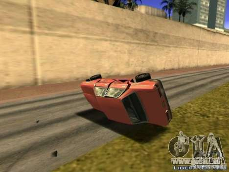 Realistic Car Crash Physics pour GTA San Andreas