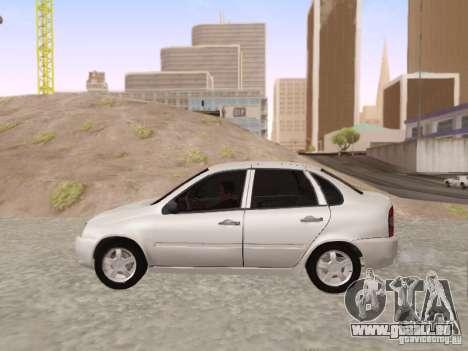 LADA Kalina Limousine für GTA San Andreas linke Ansicht