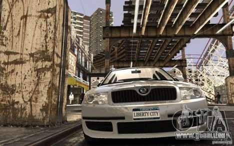 Skoda SuperB für GTA 4 Seitenansicht